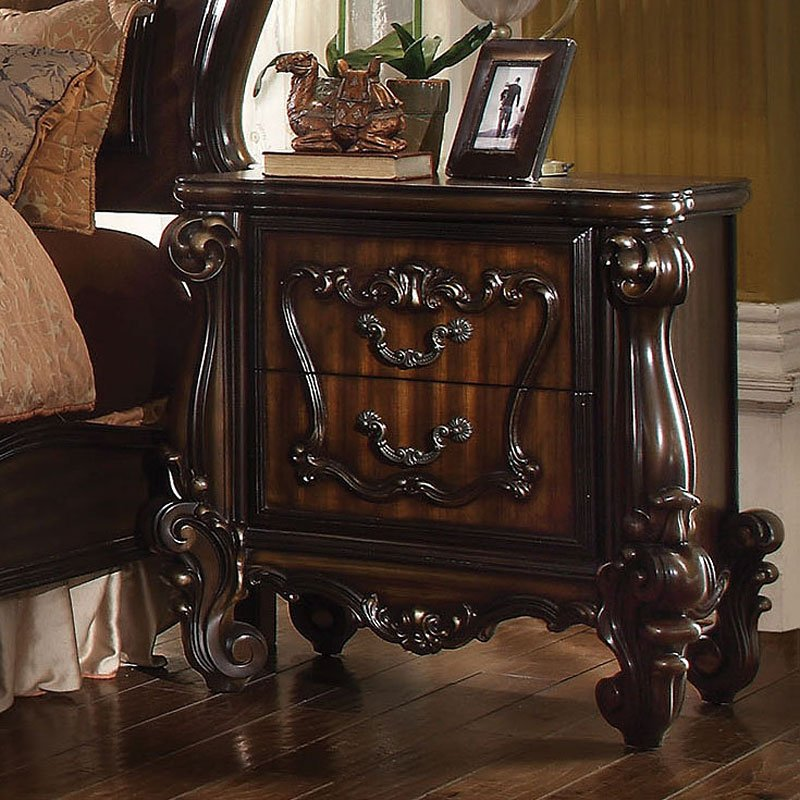 Acme Versailles Cherry Oak Nightstand 21103