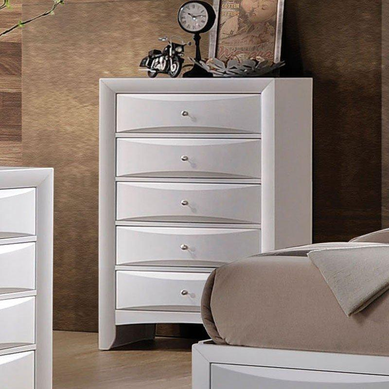 Acme Ireland White Chest 21707 Chest Acme