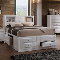 Acme Ireland Youth Full Bookcase White Bed 21710F