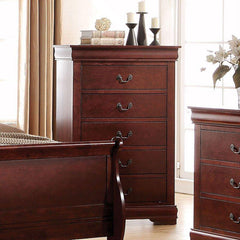Acme Louis Philippe Cherry Chest 23756 Chest Acme