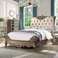 Acme Orianne Sleigh Bed 23790Q Bed Acme