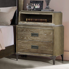Acme Athouman Nightstand w/ USB Dock 23923