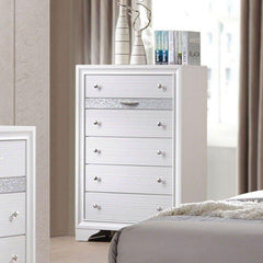 Acme Naima White Chest 25776 Chest Acme
