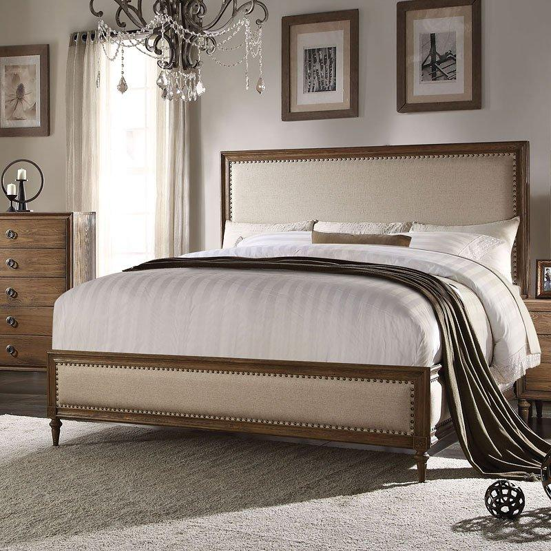 Acme Inverness Low Profile Bed 26080Q Bed Acme