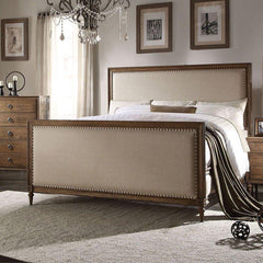 Acme Inverness Panel Bed 26090Q Bed Acme