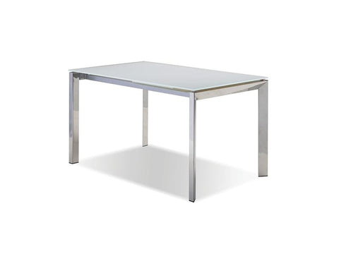 Mobital Ghost Pure White Dining Table DTAGHOSWHIT Dining Tables Mobital