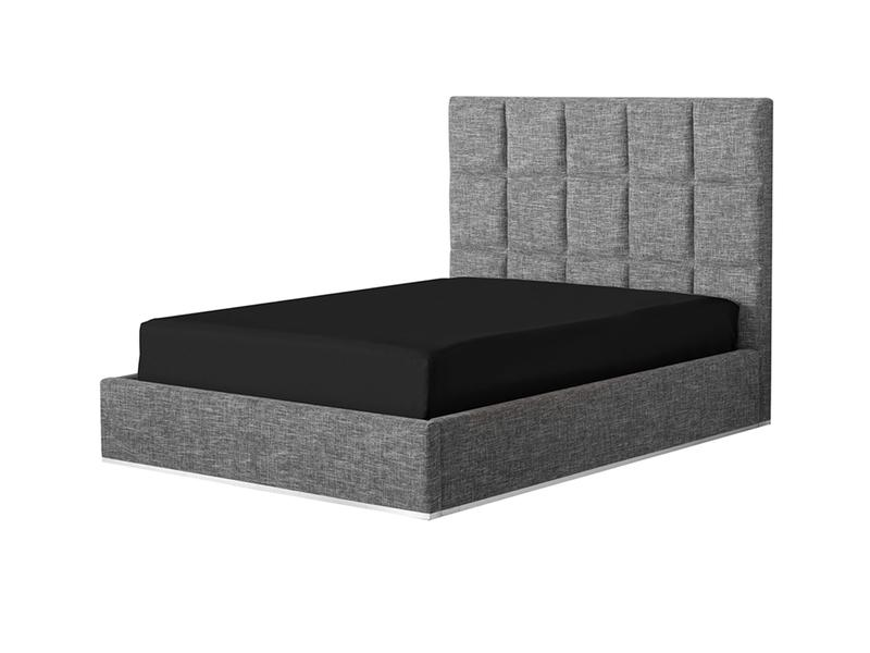 Mobital Glare Grey Queen Bed BEDGLARFAGRQUEEN Beds Mobital