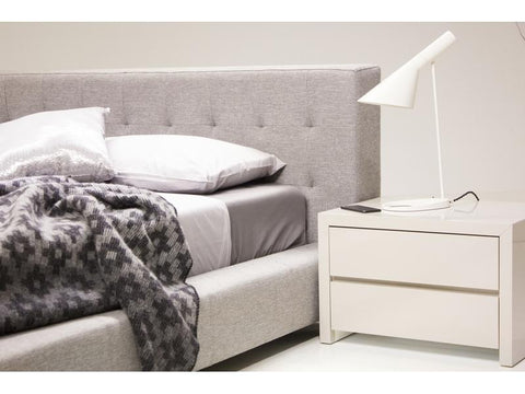 Mobital Fresca Pewter King Bed BEDFRESPEWTKING Beds Mobital
