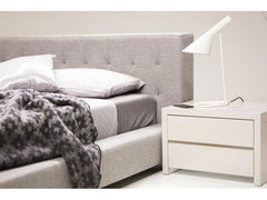Mobital Fresca Pewter King Bed BEDFRESPEWTKING