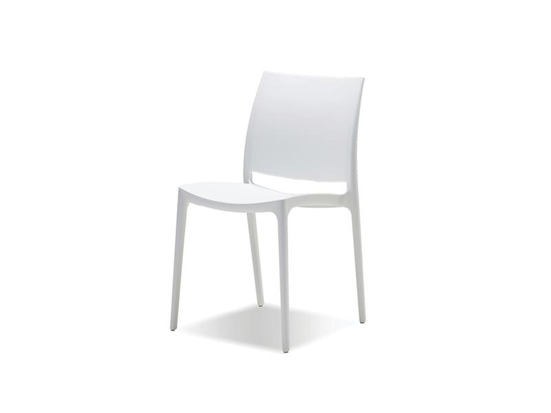 Mobital Vata White Dining Chair DCHVATAWHIT Dining Chairs Mobital