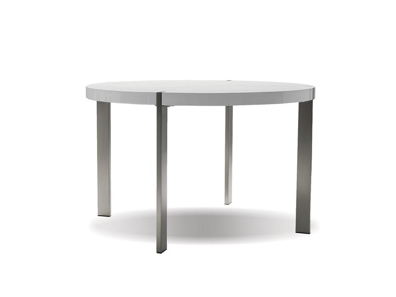 Mobital Voom White Dining Table DTAVOOMWHIT Dining Tables Mobital