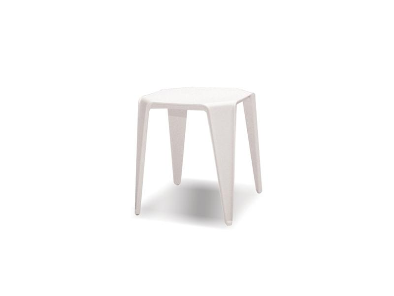 Mobital Yatta White End Table WENYATTWHIT End Tables Mobital