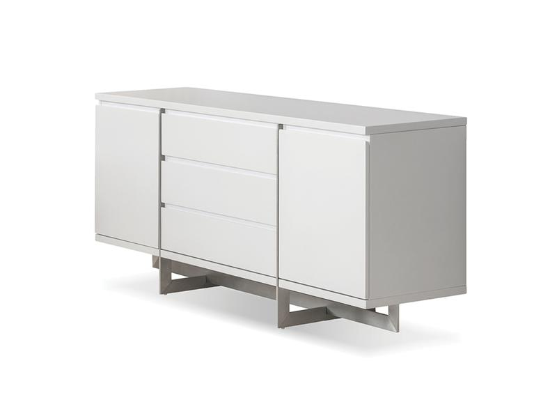 Mobital Remi White Dining Buffet DBUREMIWHIT Dining Buffets Mobital