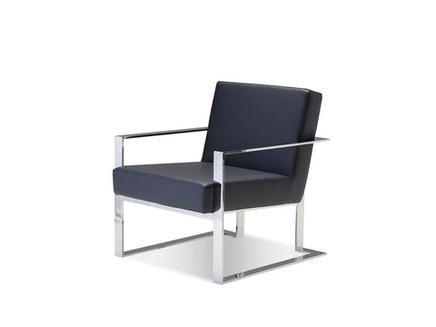 Mobital Motivo Black Occasional Chair LARMOTIBLAC Occasional Chairs Mobital