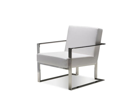 Mobital Motivo White Occasional Chair LARMOTIWHIT Occasional Chairs Mobital