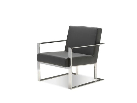 Mobital Motivo Grey Occasional Chair LARMOTIGREY Occasional Chairs Mobital