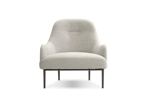 Mobital Light Grey Occasional Chair LCHSWOOLGRE Occasional Chairs Mobital