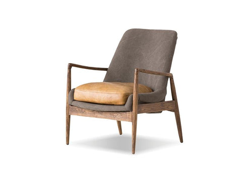 Mobital Reynolds Tan Black Occasional Chair LCHREYNGREYTAN Occasional Chairs Mobital