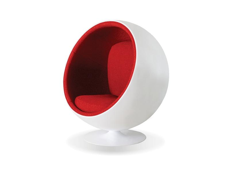 Mobital Lobo Red Occasional Chair LCHLOBOWHIT Occasional Chairs Mobital
