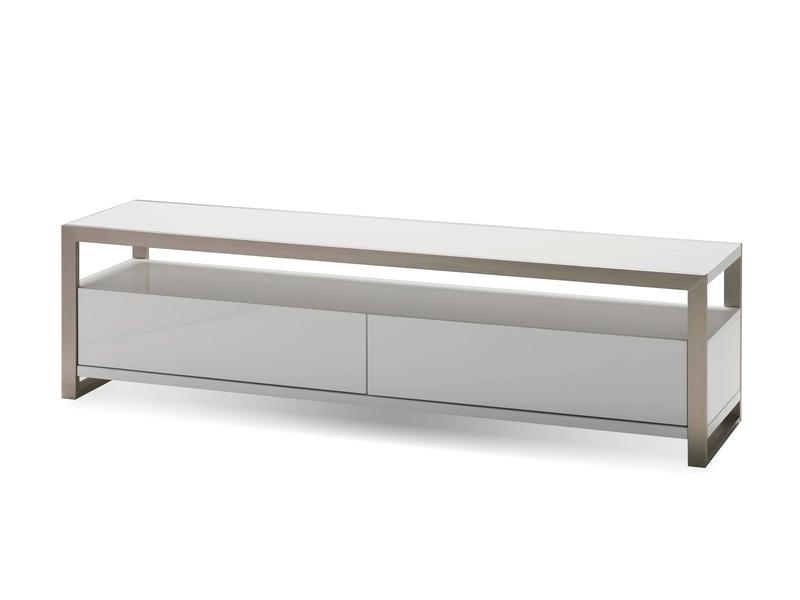Mobital Brando White TV Unit WTVBRANWHIT63IN TV units Mobital