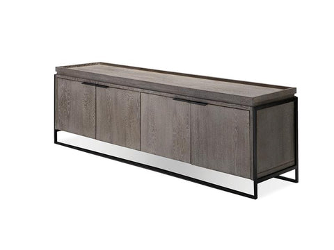 Mobital Cucina Natural Walnut TV Unit WTVCUCIWOOD TV units Mobital