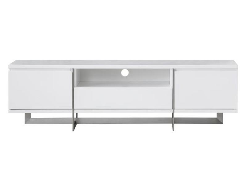 Mobital Remi White TV Unit WTVREMIWHIT TV units Mobital