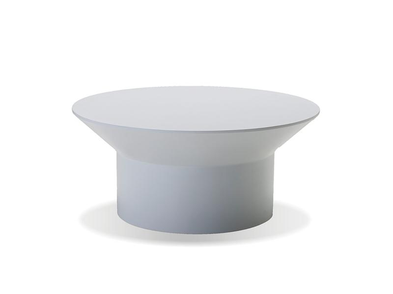 Mobital Boracay White Coffee Table WCOBORAWHIT Coffee Tables Mobital