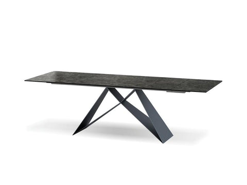 Mobital The W Slate Grey Dining Table DTATHEWSLAT Dining Tables Mobital