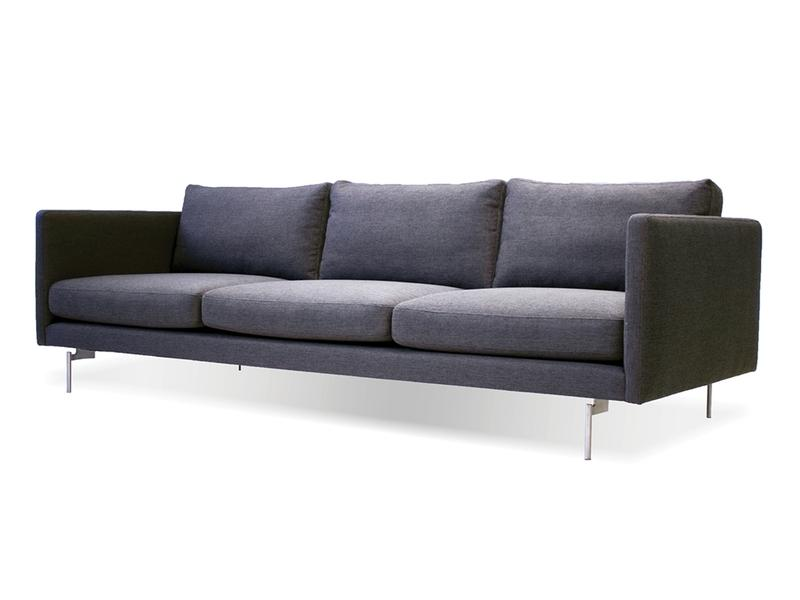 Mobital Taut Dark Grey Fabric Sofa SOFTAUTDGRELONG Sofas Mobital