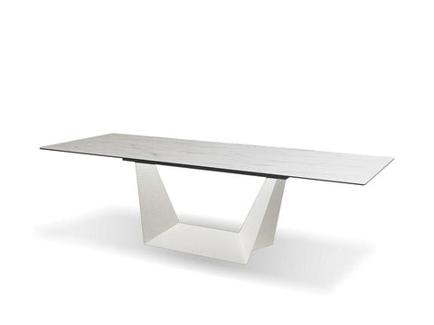 Mobital Origami Carrera Dining Table DTAORIGCARRLONG Dining Tables Mobital