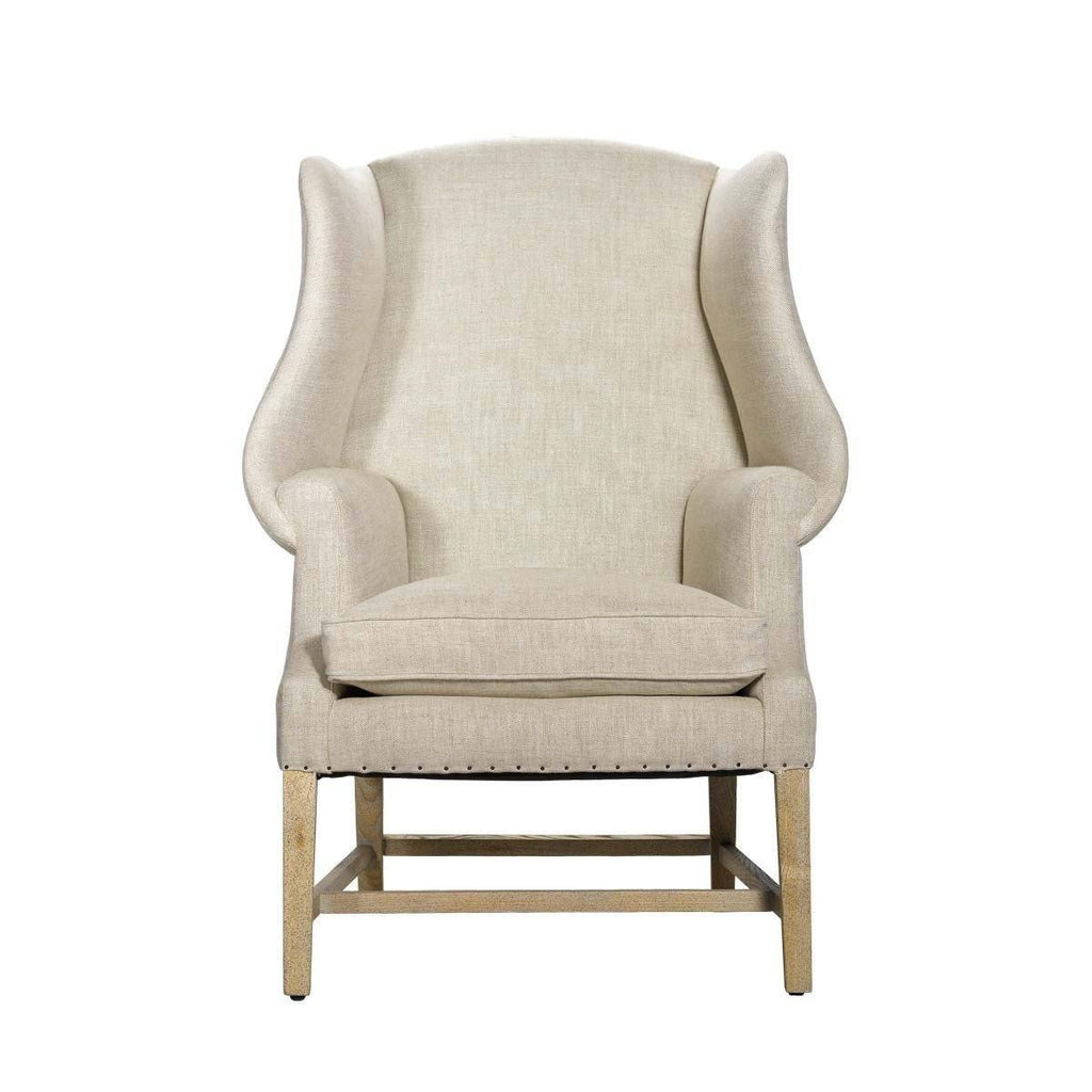 Curations Limited New Age Linen Chair 7841.0003.A015 Chair Curations Limited