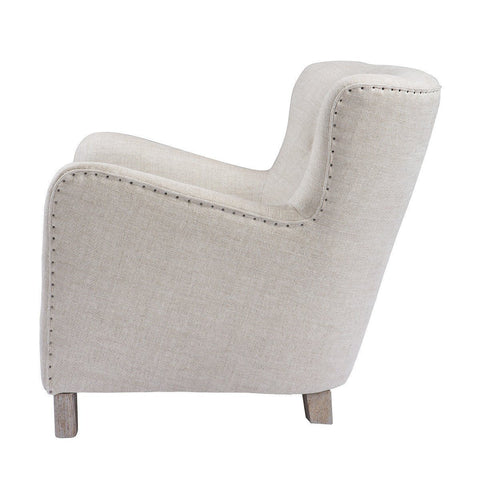 Curations Limited Savona Beige Arm Chair 7841.0045.A015 Chair Curations Limited