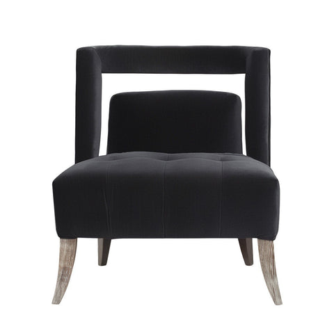 Curations Limited Parisian Velvet Arm Chair 7841.3001 Chair Curations Limited