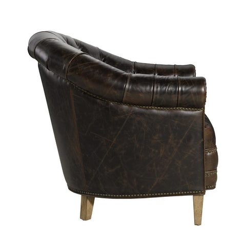 Curations Limited Chambery Valencia Leather Arm Chair 7841.3201 Chair Curations Limited
