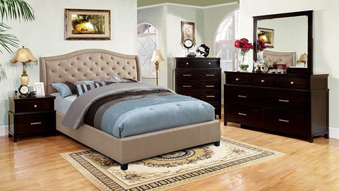 Furniture of America Marisko Panel Bed IDF-7161 Panel Bed Furniture of America