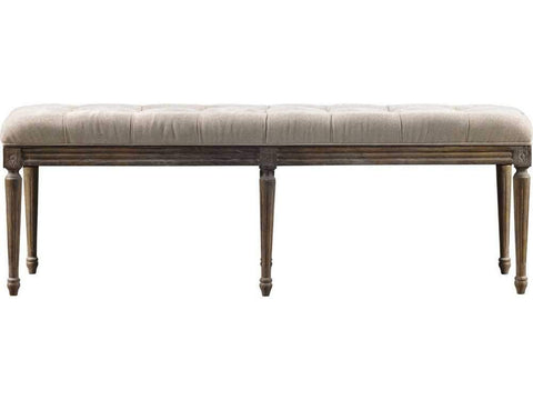 Curations Limited French Louis Bench 7801.0008.A015 Benches Curations Limited