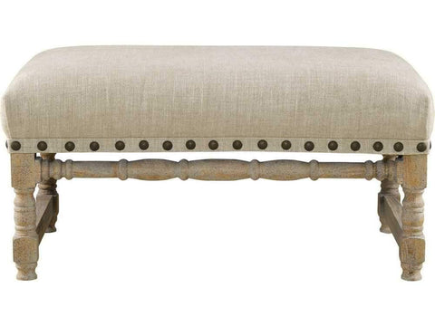 Curations Limited Antwerpen Linen Bench 7801.1110 Benches Curations Limited