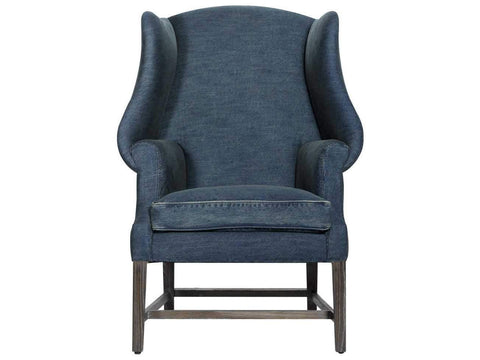 Curations Limited New Age Denim Chair 7841.0002 Chair Curations Limited