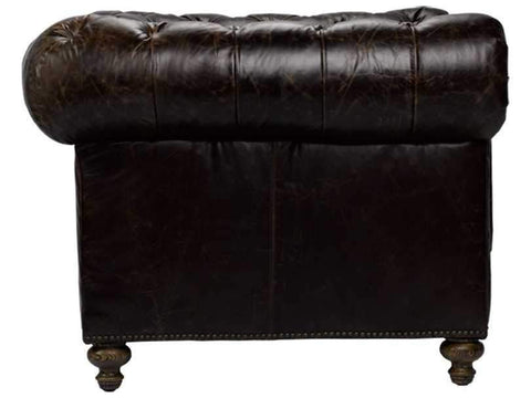 Curations Limited Cigar Club Valencia Leather Arm Chair 7841.3002.1 Sofas Curations Limited