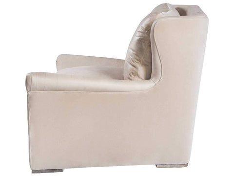 Curations Limited Winslow Granite Leather Lounge Chair 7841.3109 Sofas Curations Limited