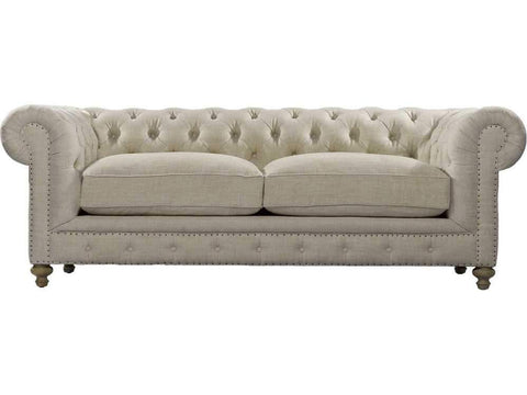 "Curations Limited 90"" Cigar Club Sofa 7842.0003.A015 Sofas Curations Limited"