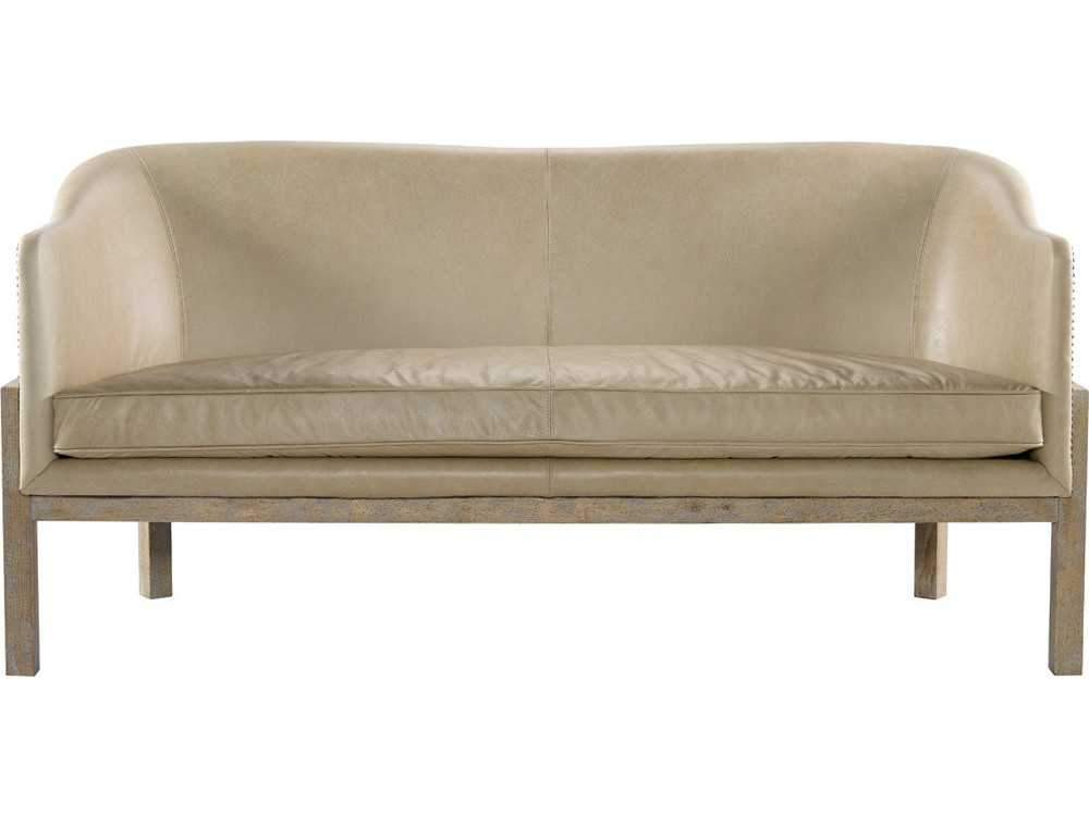 Curations Limited Lucerne Granite Leather Sofa 7842.0032 Sofas Curations Limited