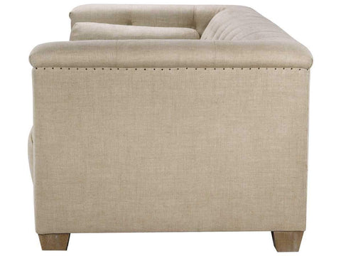 Curations Limited Bergamo Linen Sofa 7842.0035.A015 Sofas Curations Limited