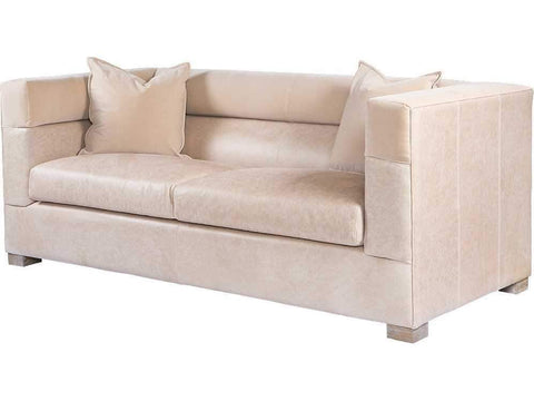 Curations Limited Modena Granite leather Sofa 7842.0041 Sofas Curations Limited