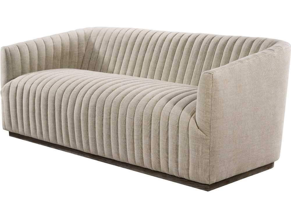 Curations Limited Sete Strip Linen Sofa 7842.0044.A015 Sofas Curations Limited