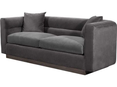 Curations Limited Avington Velvet Sofa 7842.0048.V807 Sofas Curations Limited