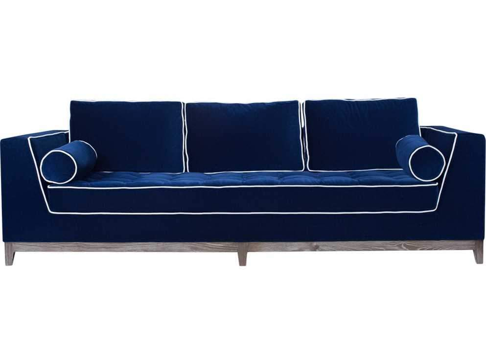 Curations Limited Nick Alain Velvet Sofa 7842.3006 Sofas Curations Limited
