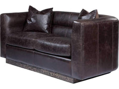 Curations Limited Avington Valencia Leather Sofa 7842.3042