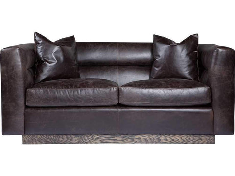 Curations Limited Avington Valencia Leather Sofa 7842.3042 Sofas Curations Limited