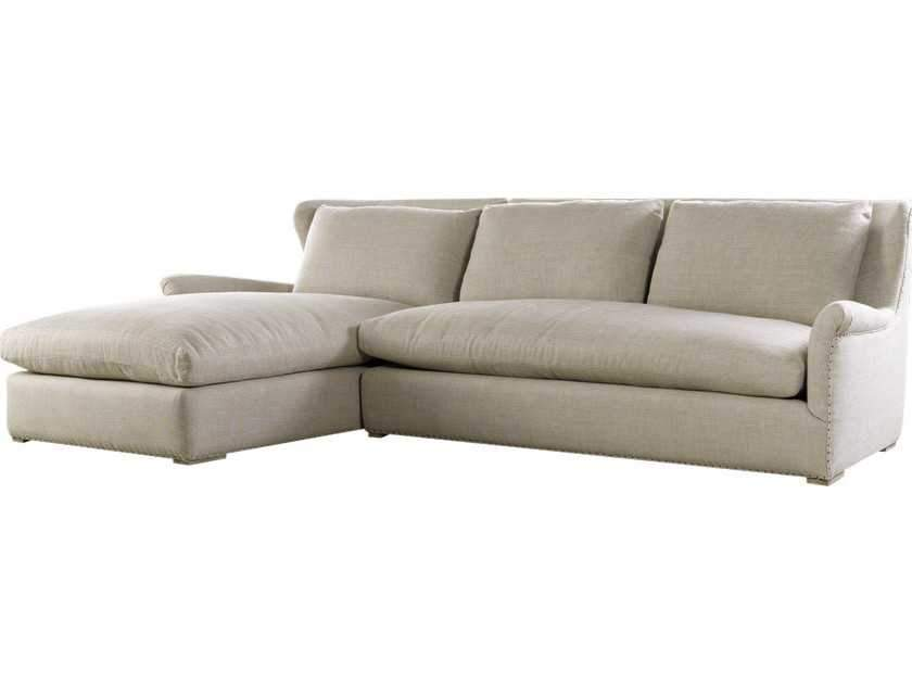 Curations Limited Winslow Sectional Beige Linen Sofa 7843.3101.LAF Sofas Curations Limited